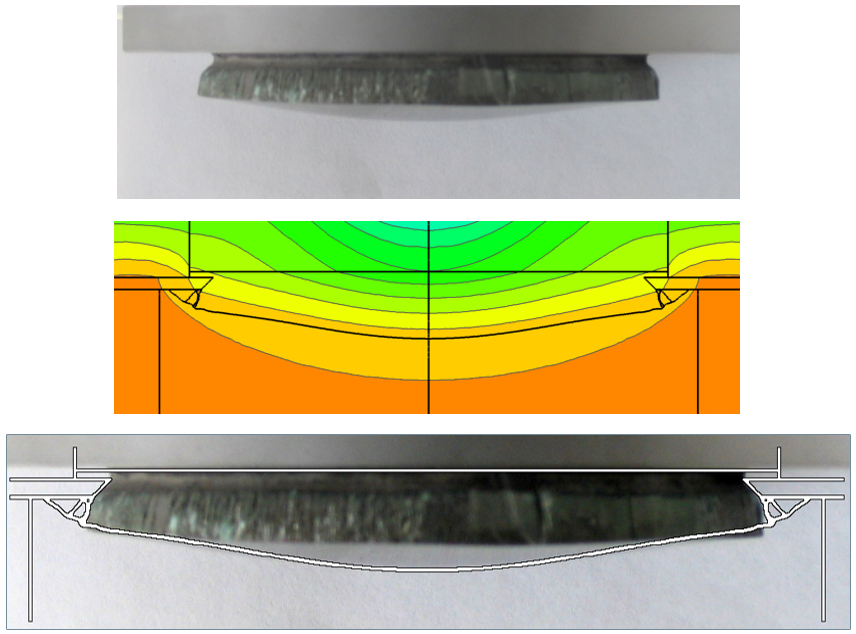 VPT SiC crystal shape. Modeling with Virtual Reactor